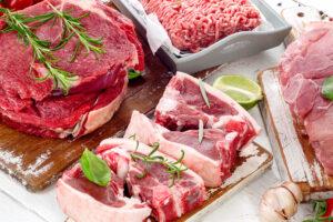 牛肉と豚肉の画像です
